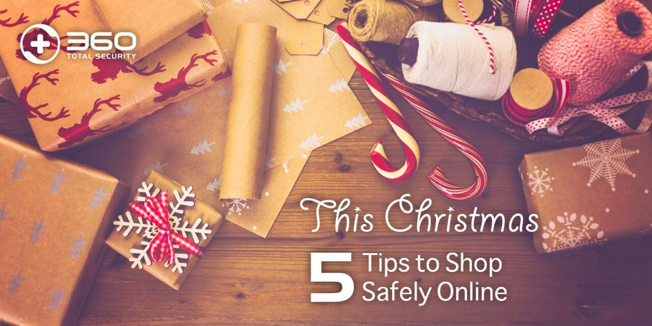 Christmas shop safely online