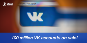 VK hacked accounts on sale