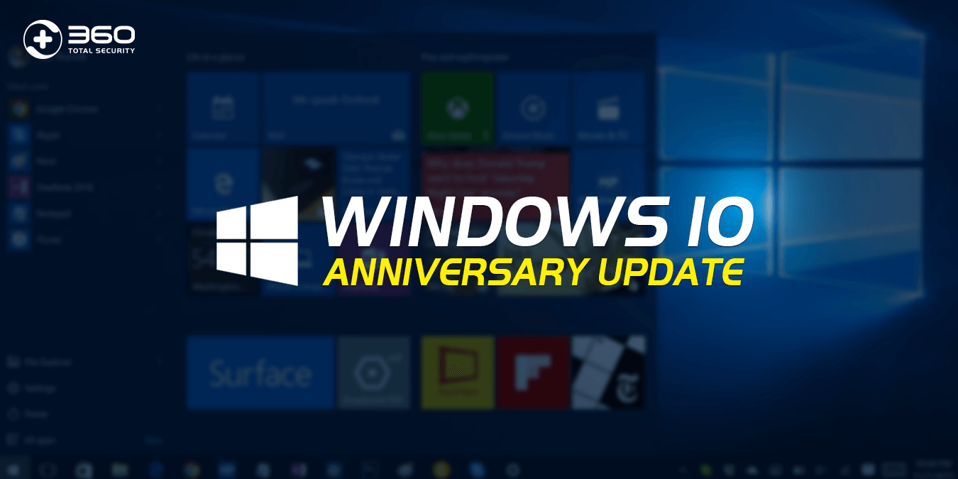 Windows 10 Anniversary Upgrade available on August 2