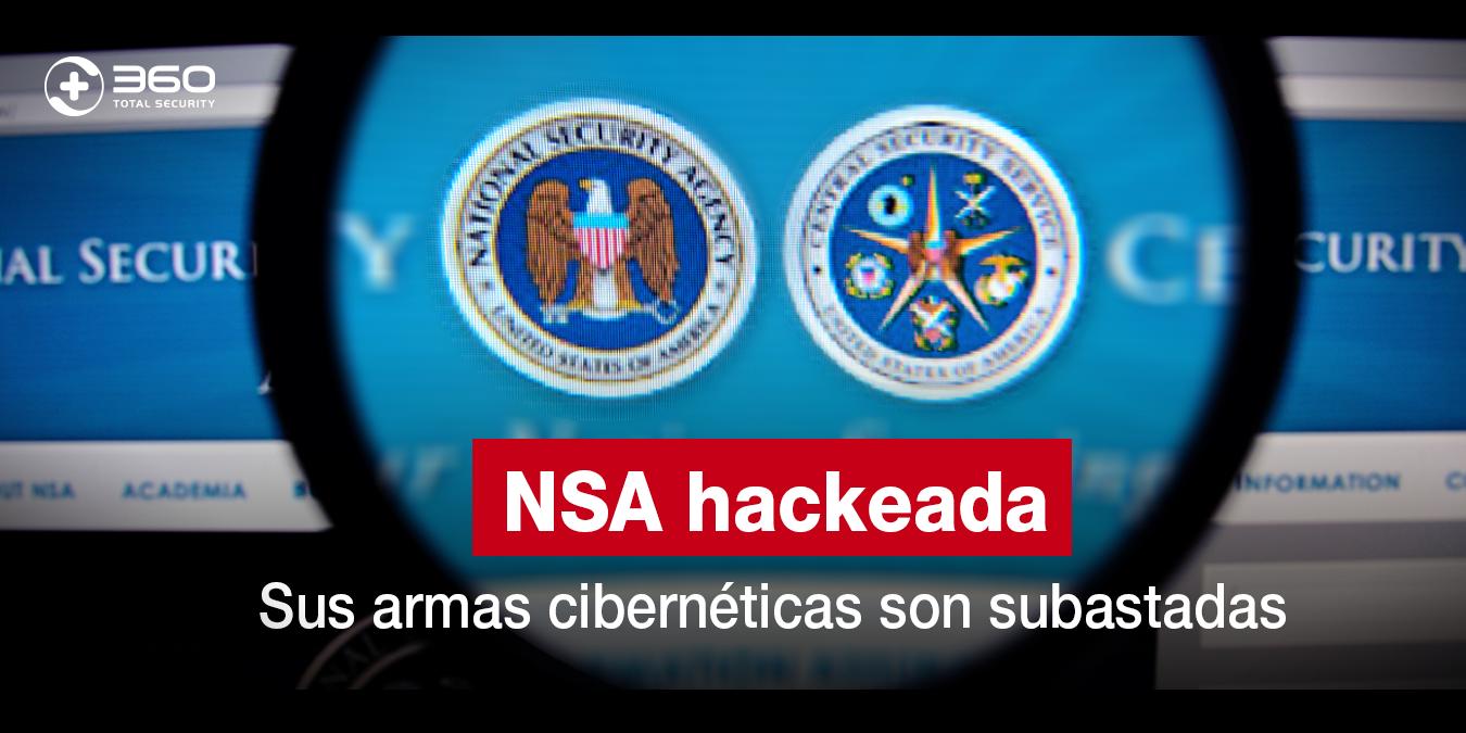 NSA ha sido hackeada