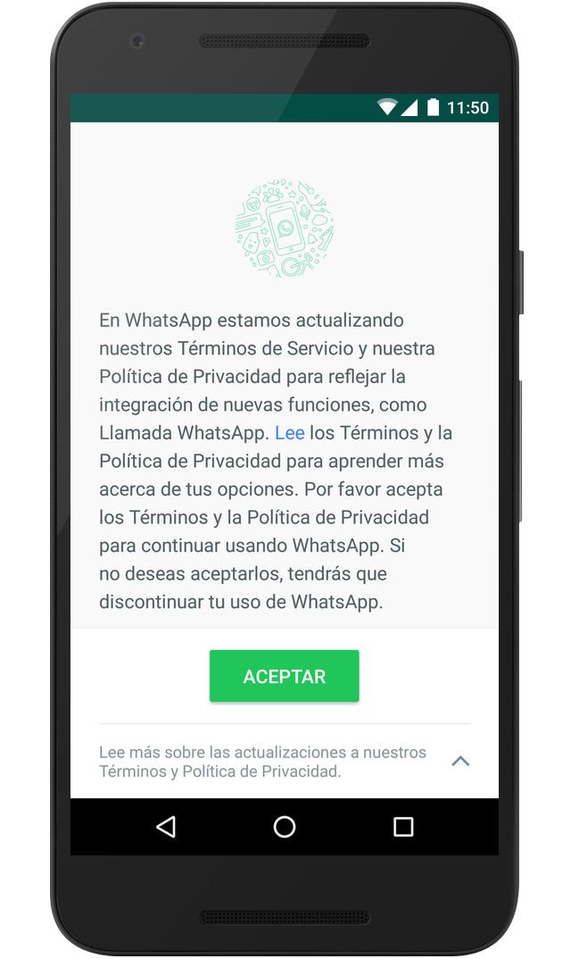 Como evitar que WhatsApp comparta tu número de teléfono con Facebook