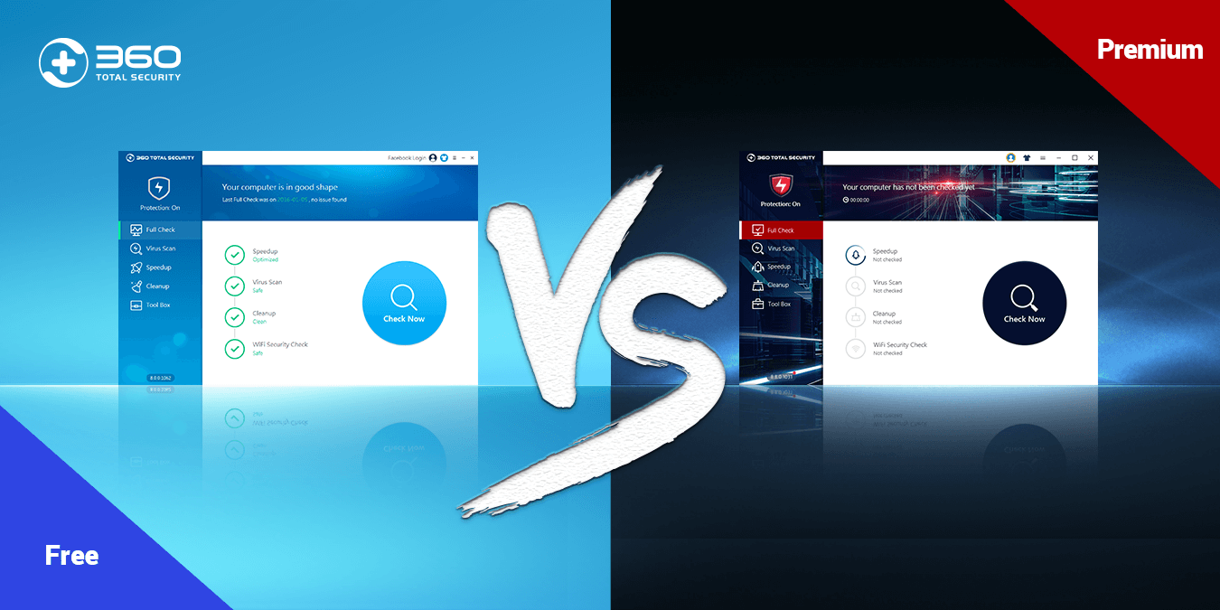 360 Total Security Premium vs  Free version: What is the difference?