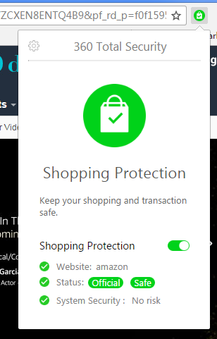 Shopping Protection