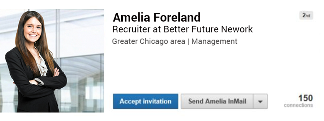 Fake LinkedIn Profile