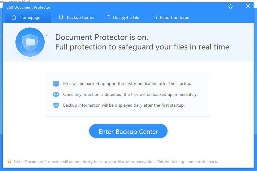 Document Protector homepage