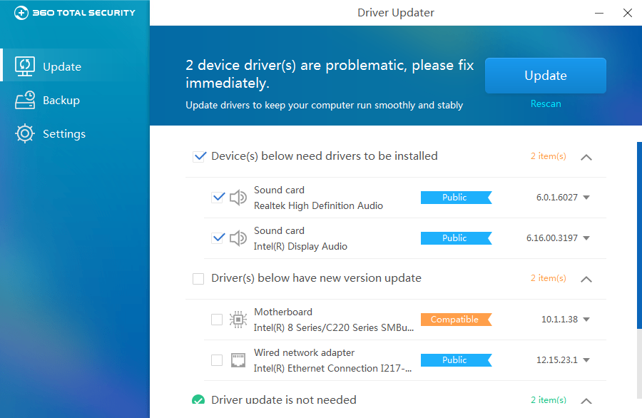 simple driver updater review