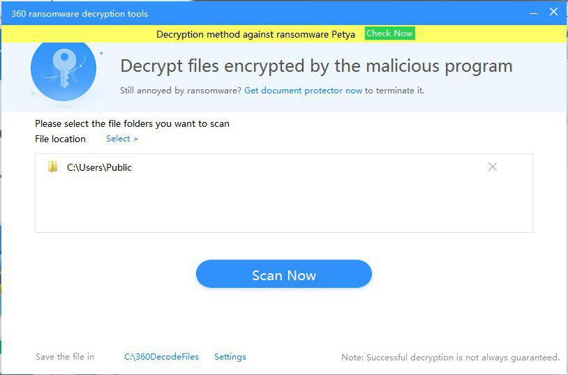 First and Only, 360 released Gryphon Ransomware decryption tool
