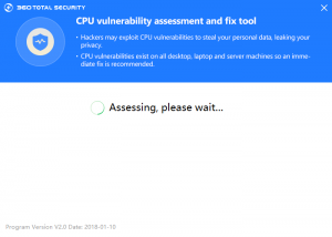 CPU vulnerability assessment and fix tool - Checking