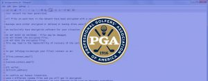 BitPaymer ransomware attack may cost the PGA 335,500 USD