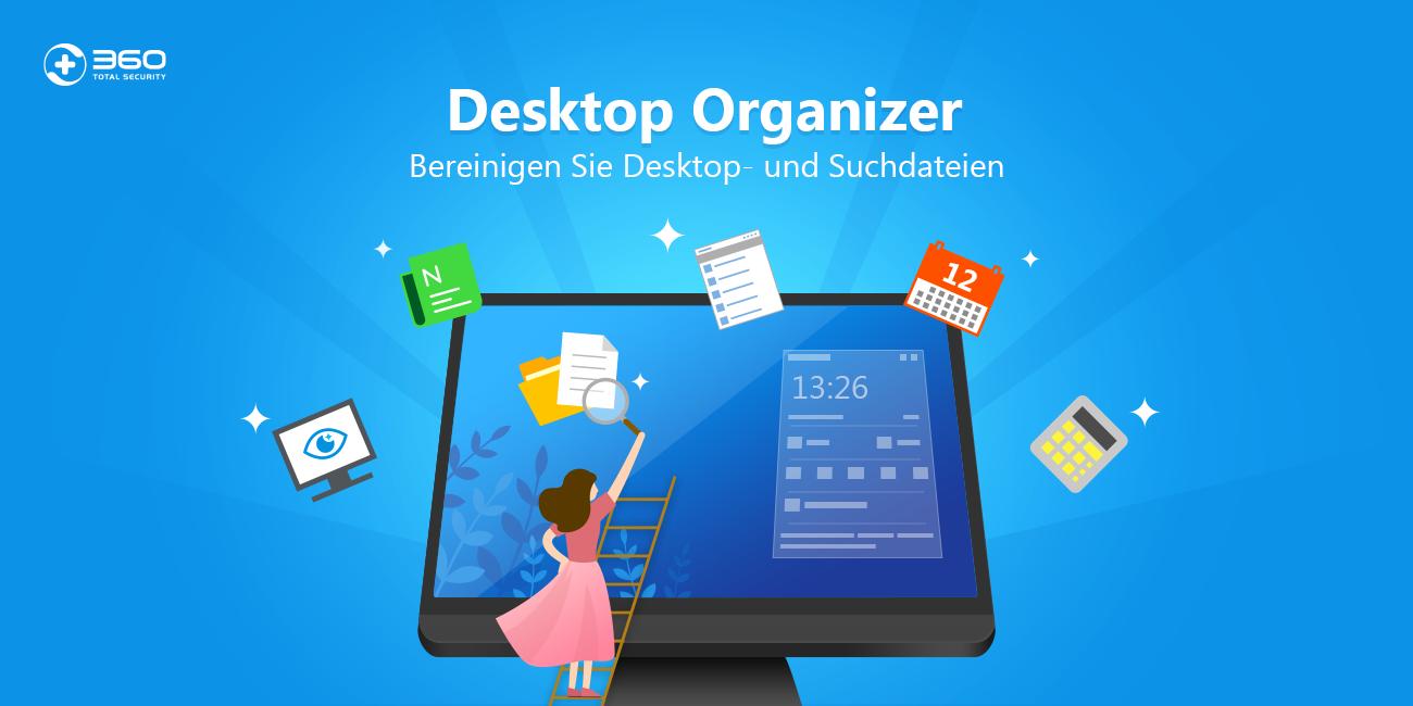 360 Desktop Organizer hält Ihren Windows-Desktop aufgeräumt