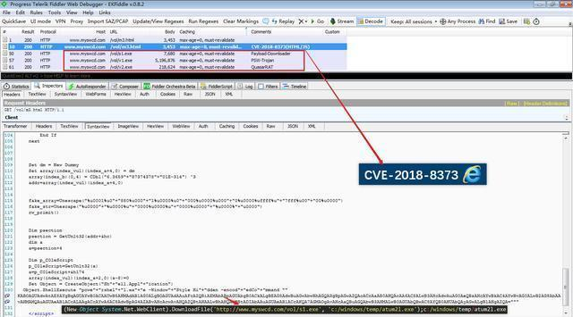 CVE-2018-8373: The best partner of hackers spreading Trojans