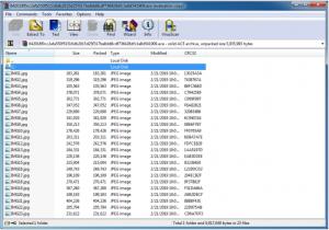 изображения внутри архива WinRAR