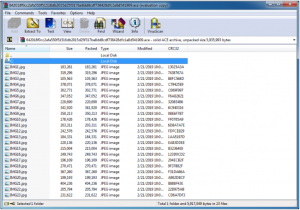 pictures inside WinRAR