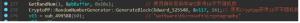 создает 32-байтовое случайное число для генерации ключа AES