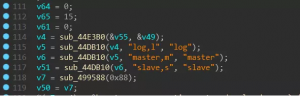 The string associated with the parameter: